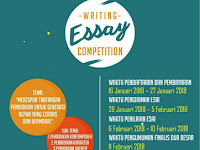 """Lomba Menulis Essay Nasional 2018 """"Writing Essay Competition"""""""