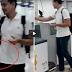 "Spotted! John Lloyd Cruz at Ellen Adarna at MACTAN Airport ""BABY BUMP"" Ang Laki Na!!"