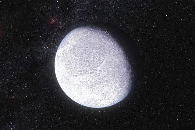 Eris - planeta anão - curiosidades