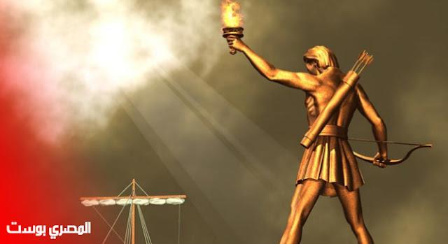 تمثال رودوس - عجائب الدنيا السبعة القدمية