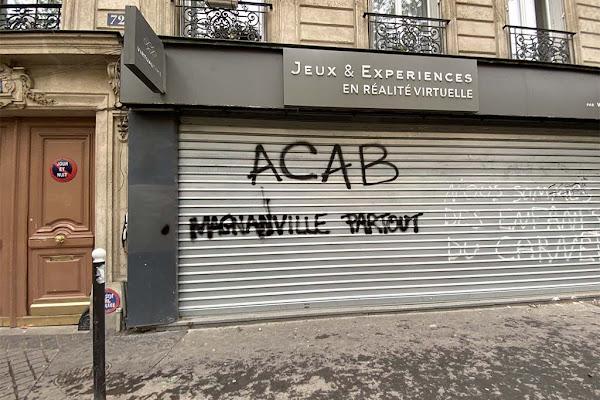 1er-Mai à Paris : « ACAB Magnanville partout », un tag écœurant au milieu des violences de la manifestation