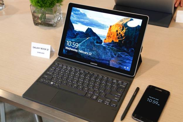 Samsung Galaxy Book 12 - Windows 10 Tablet