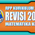 Download RPP Matematika Kurikulum 2013 SD Kelas 6 Revisi 2018