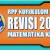 Download RPP Matematika Kurikulum 2013 SD Kelas 6 Revisi 2018