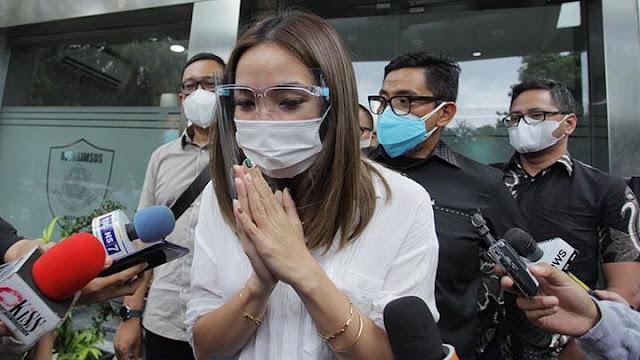 Jemput Gempi di Bandara Jadi Alasan Gisel Anastasia Mangkir di Pemeriksaan Polda Metro Jaya