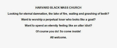 Harvard Black Mass