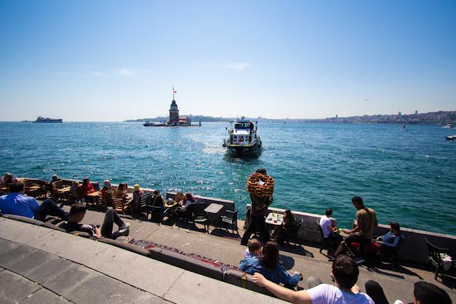 Lungomare di Uskudar (quartiere asiatico)-Istanbul
