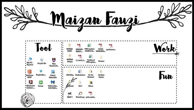 Wallpaper Simple untuk Desktop Mai | Freebies