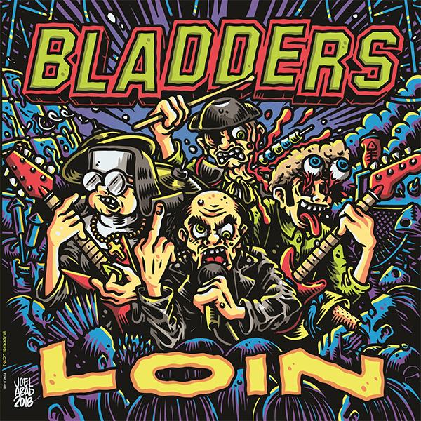 "Bladders stream new album ""Loin"""