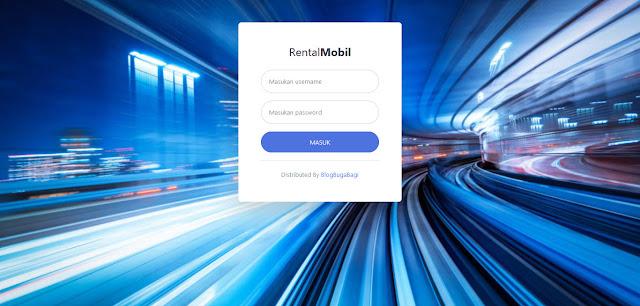 PHP Administrasi Rental Penyewaan Mobil Berbasis Web