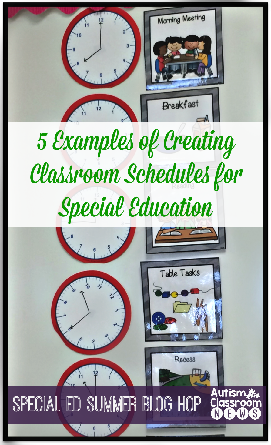 Classroom Layouts For Special Education ~ Examples of setting classroom schedules in special