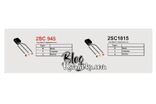 transistor c1815 Kegunaan dan Fungsi serta Persaman nya