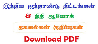 TNPSC Current Affairs & GK 2017  Notes in Tamil - Download PDF