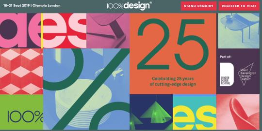 Ivace, Cámara de Castellón y Ascer promocionan el azulejo en la feria 100% Design en Londres