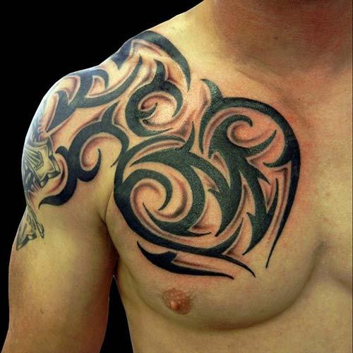 erkek tribal dövmeler man tribal tattoos 30