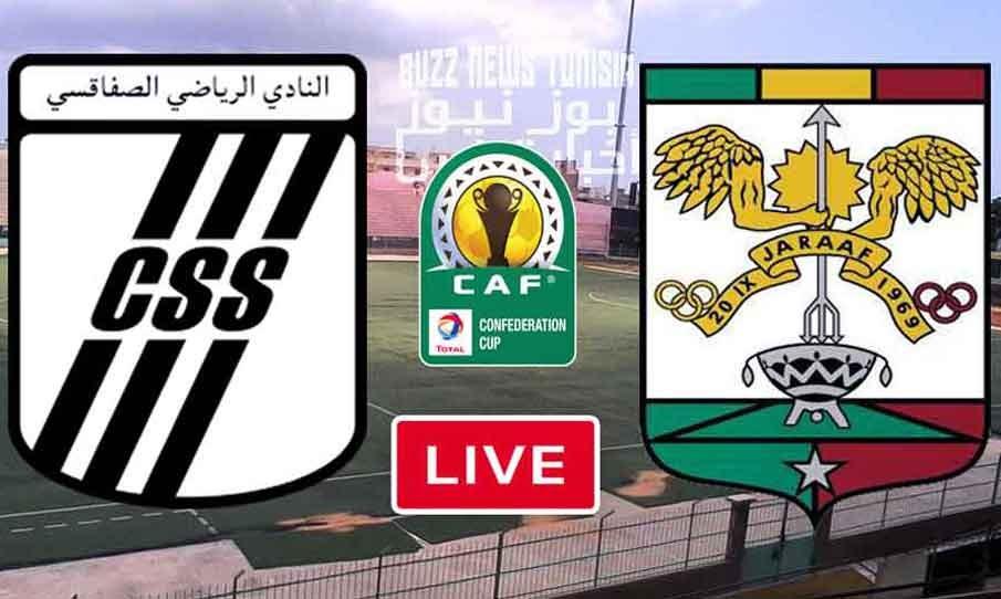 Match Club Sportif Sfaxien vs Jaraaf de Dakar Live Stream Live