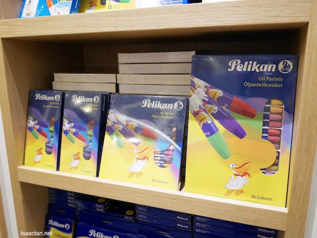 Lovely Pelikan branded Oil pastels for the children to create some art