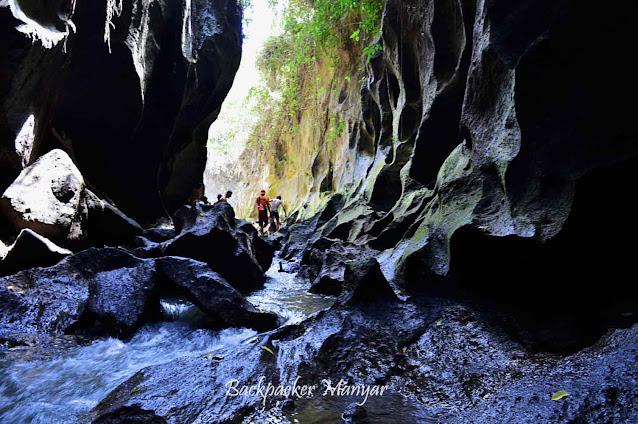 Eksotisnya Hidden Canyon Beji Guwang Bali