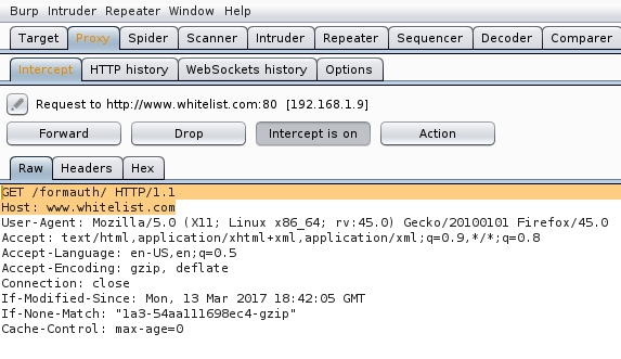 Web xml whitelist   [BLZG  2019-06-01