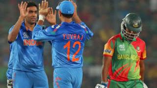 Bangladesh vs India 24th Match ICC World T20 2014 Highlights