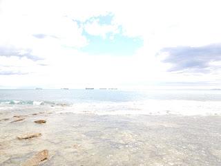 リヴォルノの海