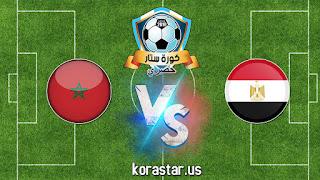 نتيجة مباراة مصر والمغرب في نهائي كأس أفريقيا لكرة الصالات egypt vs marocoo المؤهلة لكأس العالم