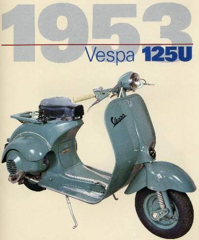 Lịch sử xe Vespa và phân biệt các dòng xe Vespa cổ