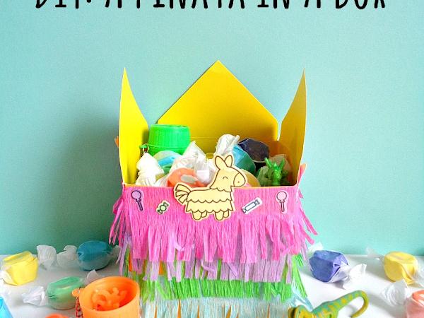DIY: A Piñata in a Box