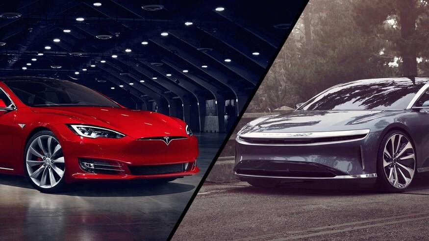 Tesla Model s vs lucid