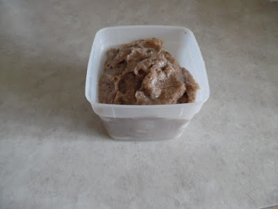 Photo of farina in portion-sized container