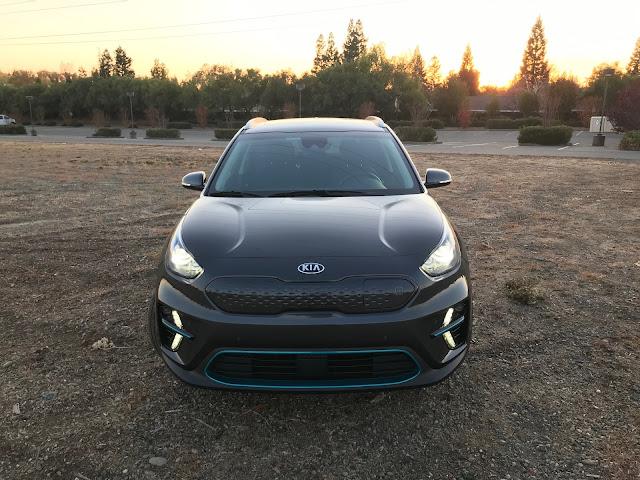 Front view of 2019 Kia Niro EV EX Premium