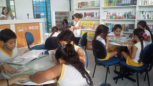 Em dois meses, mais de 1000 pessoas já foram beneficiadas com a Biblioteca Pública da Barragem Leste
