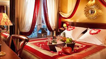 ¿Cómo decorar una habitación para una noche de pasión?