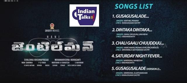 Nani-Gentleman-Telugu-Movie-Songs-List