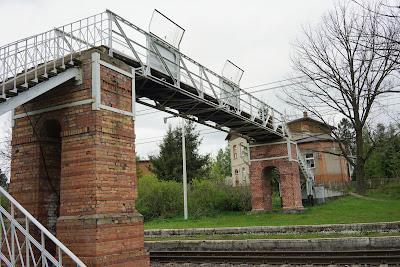 Kładka nad torami kolejowymi, Boguszów-Gorce Wschód
