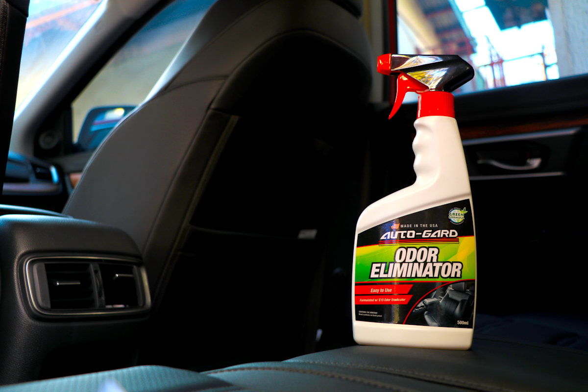 auto gard launches new odor eliminator philippine car news car reviews automotive features. Black Bedroom Furniture Sets. Home Design Ideas
