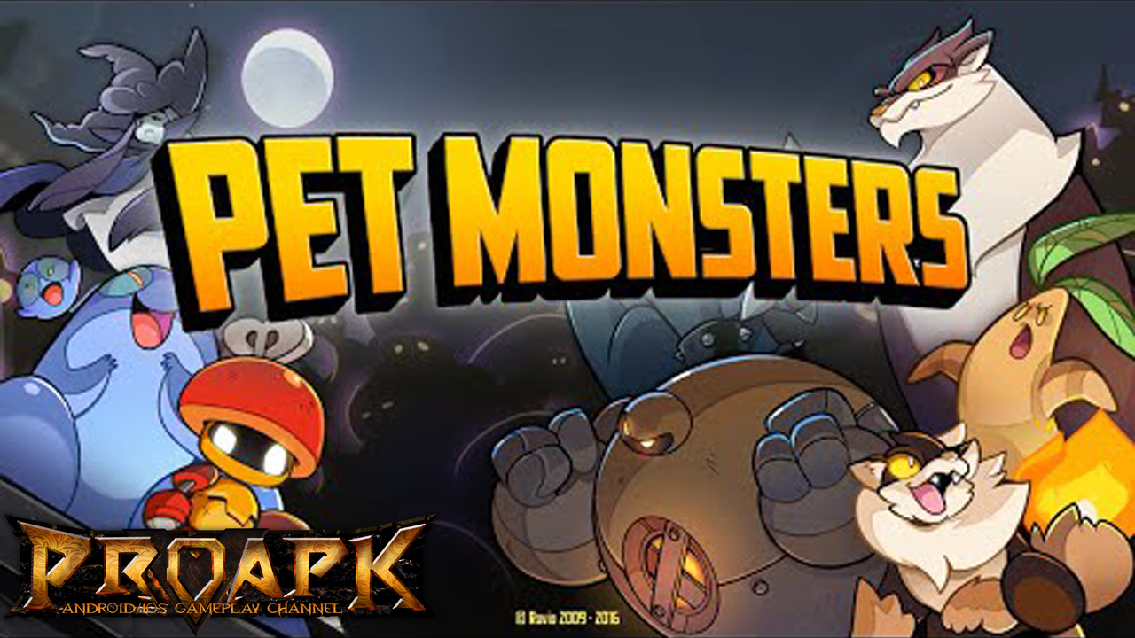 Pet Monsters Gameplay IOS / Android