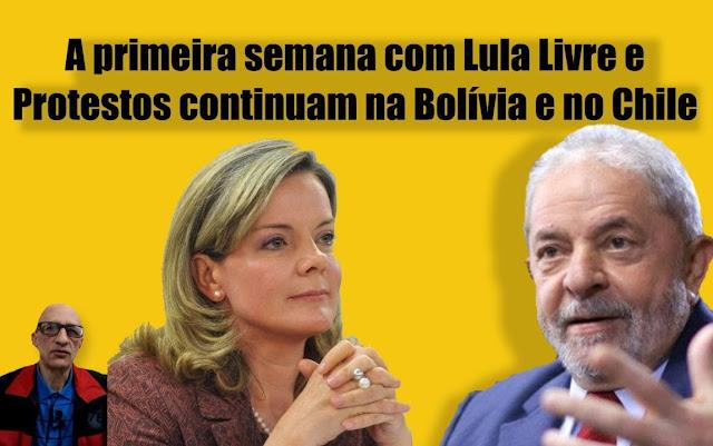 Desde o Vaticano até o Chile, passando pelo Brasil, a ofensiva é única