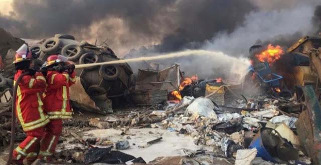 حصيلة جديدة لضحايا انفجارات بيروت