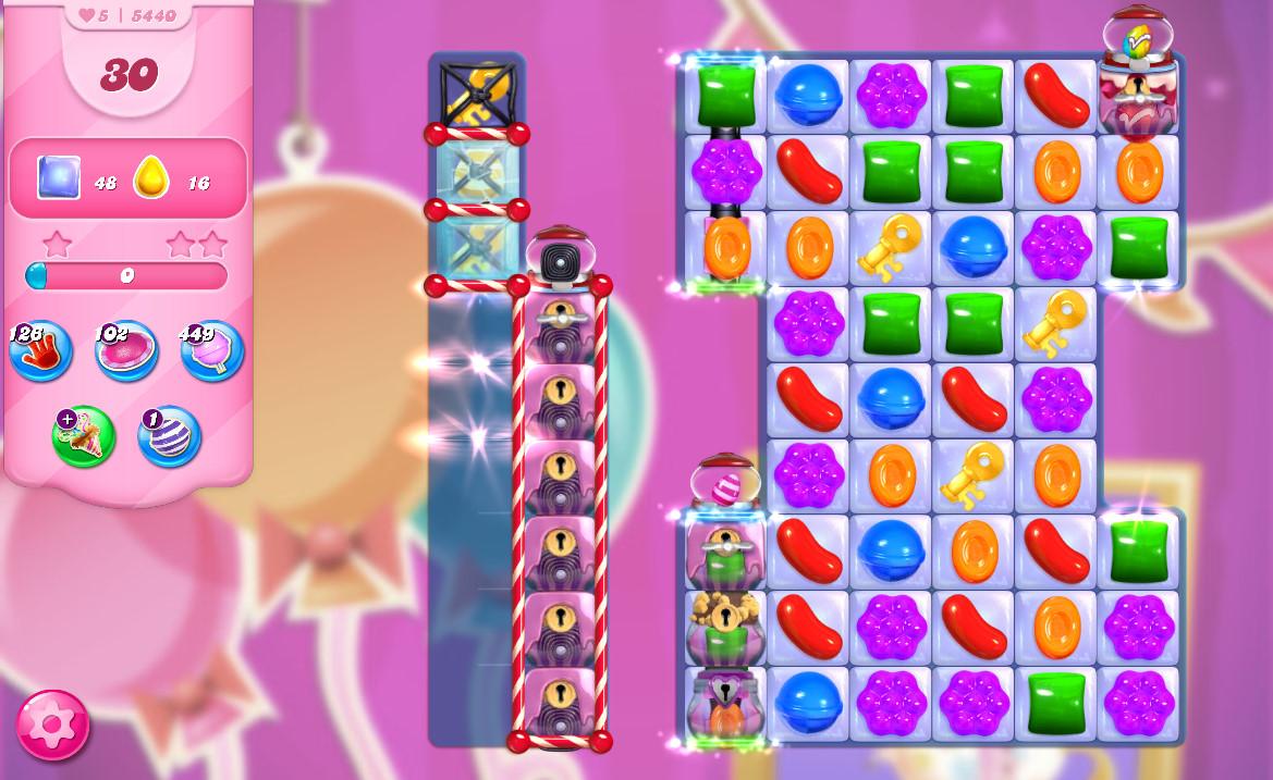 Candy Crush Saga level 5440
