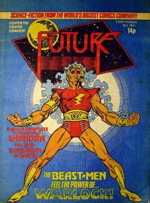 Future Tense #5, Adam Warlock