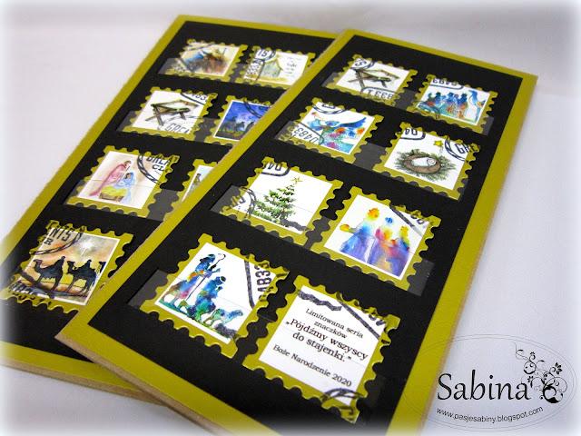 kartki na święta handmade