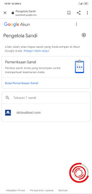 1. Untuk menghapus data login yang tersimpan di akun Google langkah pertama silakan kalian masuk ke halaman Pengelola Sandi