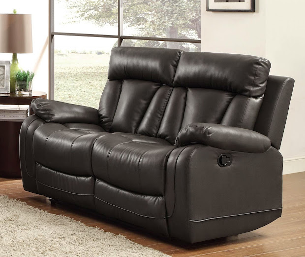 Cheap Recliner Sofas Black Leather Reclining Sofa And Loveseat