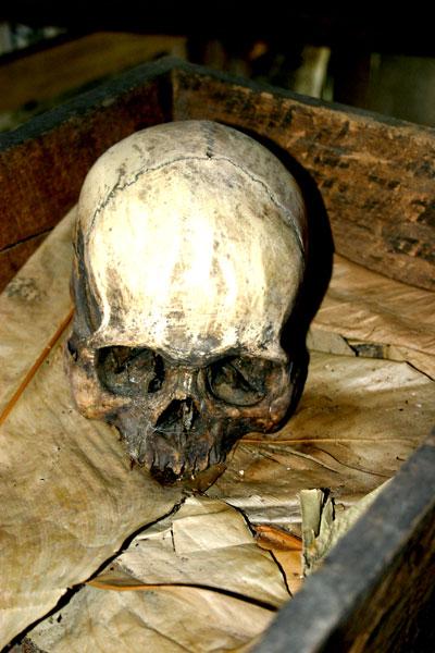 Headhunters Skull Bidayuh