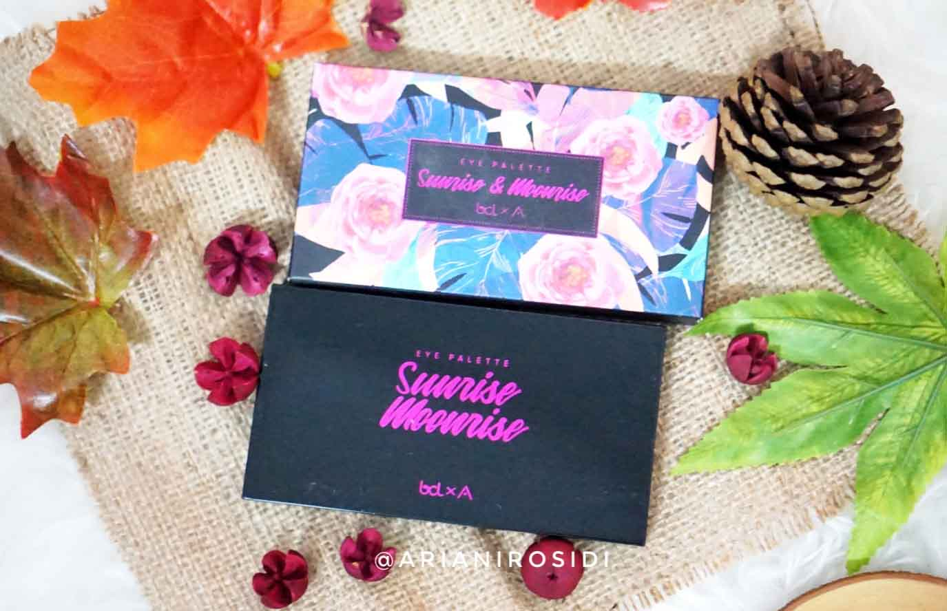 sunrise and moonrise eyeshadow palette