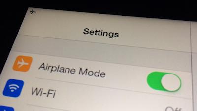 """5 Fungsi Airplane Mode atau Mode Pesawat Terbang"""