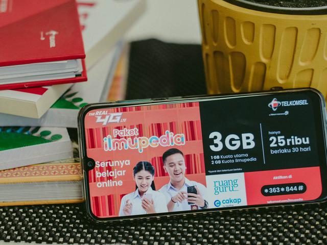 Telkomsel menyediakan Paket Belajar Bahasa