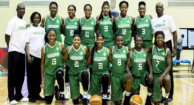 Nigeria's Senior National Women's Basketball Team Win Afrobasket 2017