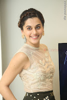 Taapsee Pannu in transparent top at Anando hma theatrical trailer launch ~  Exclusive 038.JPG